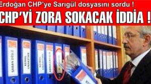 Başbakandan CHP'ye yolsuzluk göndermesi