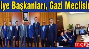 Belediye Başkanları, Gazi Meclisimizde.