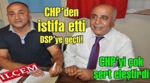 Binali Karaman Chp'den istifa edip Dsp'ye geçti!