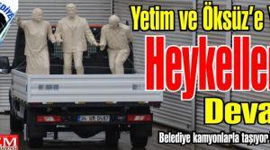 Borç Batağında ki Kartal Belediyesi Heykellere devam ediyor!