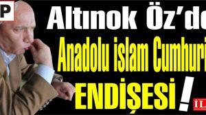CHP'li Altınok Öz'ün İslam Cumhuriyeti endişesi