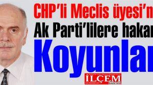 CHP'li meclis üyesi'nden 'Koyun' hakareti!