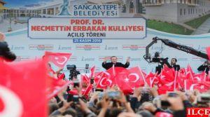 Cumhurbaşkanı Erdoğan, Prof. Dr. Necmettin Erbakan Külliyesinin ve Hacı Fatma Fitnat Camiinin açılışını yaptı.