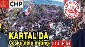 Cumhuriyet Halk Partisi Büyük İstanbul Mitingini Kartal'da yaptı