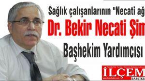 Dr. Bekir Necati Şimşek, Başhekim Yardımcısı oldu.