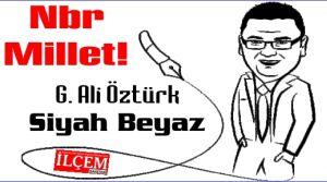 Gökhan Ali Öztürk 'Nbr Millet!'