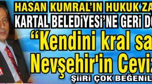 Hasan Kumral'ın hukuk zaferi! Kartal Belediyesi'ne geri döndü.