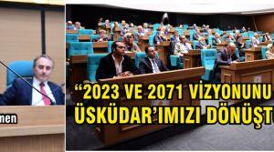 """Hilmi Türkmen """"Üsküdarımızı dönüştüreceğiz..."""""""