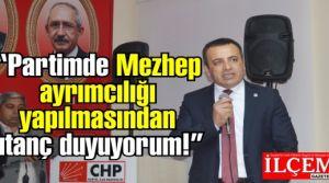 Hüsnü Süslü 'CHP'de Mezhep ayrımıcılığı yapılmasından utanç duyuyorum!'