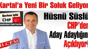 Hüsnü Süslü CHP'den Aday Adaylığını Açıklıyor!