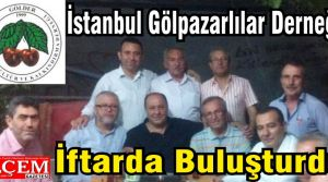 İstanbul Bilecik Gölpazarlılar Derneği iftarına büyük katılım