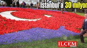 İstanbul'u 30 milyon lale süslüyor