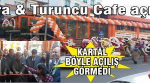 İxora & Turuncu Cafe Görkemli bir şekilde açıldı.