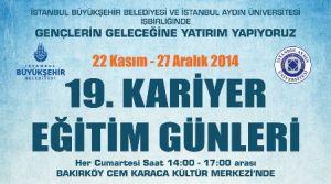Kariyer isteyenlere İstanbul Büyükşehir Belediyesi'nden eğitim günleri fırsatı