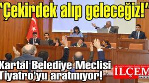 Kartal Belediye Meclisi Tiyatro'yu aratmıyor!