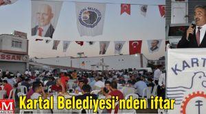 Kartal Belediyesi Kartal Oto Sanayi Sitesi esnafına iftar yemeği verdi.