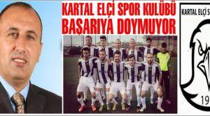 Kartal Elçi Spor Kulübü başarıya doymuyor!