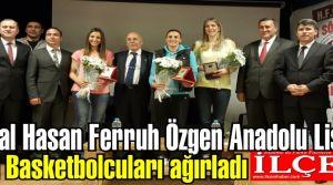 Kartal Hasan Ferruh Özgen Anadolu Lisesi, öğrencilerini ünlü basketbolcularla buluşturdu.