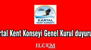 Kartal Kent Konseyi Genel Kurul yapacak