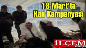 Kartal Ülkü ocakları kan kampanyası düzenledi.