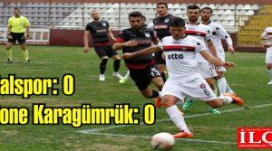 Kartalspor: 0 – 0 Centone Karagümrük