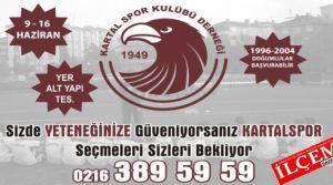 Kartalspor 2014-2015 sezonu altyapı seçmelerine katılmak istermisiniz?