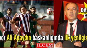Kartalspor Ali Apaydın başkanlığında ilk yenilgisini aldı.