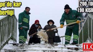 Maltepe'de kar seferberliği
