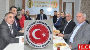 MHP Sancaktepeden Basına vefalı ağırlama