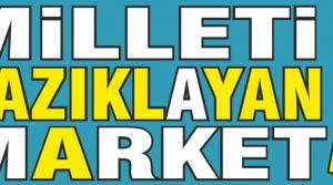 Milleti Kazıklayan market!