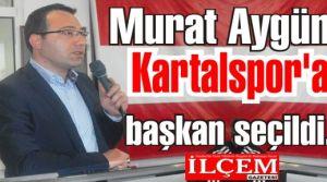 Murat Aygün Kartalspor'a başkan seçildi.