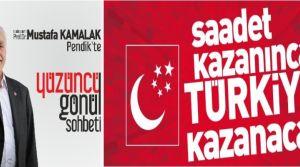 Mustafa KAMALAK Pendik'te