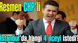 Mustafa Sarıgül artık CHP'de! Kılıçdaroğu'ndan İstanbul'da hangi 4 ilçeyi istedi.
