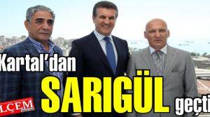 Mustafa Sarıgül, Kartal CHP'yi ve Altınok Öz'ü ziyaret etti.