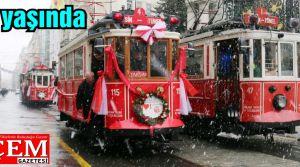 Nostaljik Tramvay 101 yaşında.