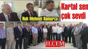 Nuh Mehmet Hamurcu'ya anlamlı veda...