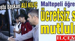 Öğrenci Dostu Başkan Ali Kılıç