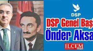 Önder Aksakal DSP Genel Başkanı seçildi.