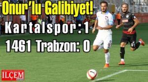 Onur'lu Galibiyet! Kartalspor: 1 - 1461 Trabzon: 0