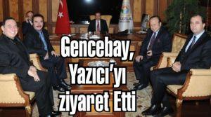 Orhan Gencebay, Yazıcı'yı ziyaret Etti