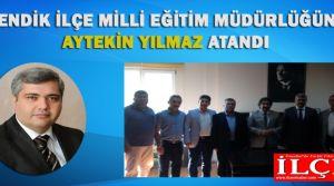 Pendik İlçe Milli Eğitim Müdürlüğü görevine Aytekin YILMAZ atandı.