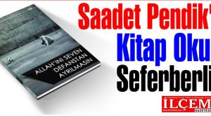 Saadet Pendikten Kitap Okuma Seferberliği‏