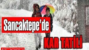 Sancaktepe'de Okullar Cuma günü Kaymakam'ın emriyle tatil oldu.