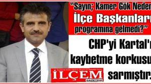 Temurhan Yıldız 'CHP'yi Kartal'ı kaybetme korkusu sarmıştır!'