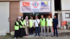 Trabzon ve Çaykaralılar Derneği Bosna Hersek'te Kurban kesti.