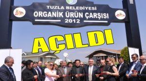 Tuzla Belediyesi Organik Ürünler Çarşısı Açıldı