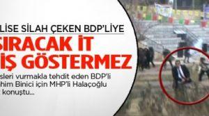 """Yusuf Halaçoğlu """"Isıracak it dişini göstermez!"""""""