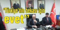 """Mehmet Bülent Karataş, """"Türkiye'nin bekası için evet"""""""