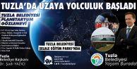 Uzaya yolculuk Tuzla'da başladı.