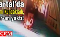 Kartal'da Cami Kundakladı, Kur-an yaktı!